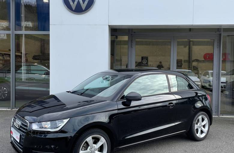 AUDI A1 1.6 TDI 116 S tronic 7  Ambition - véhicule d'occasion - Site Internet Faurie