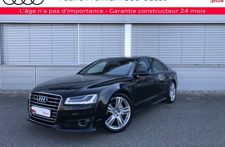 AUDI A8 V6 3.0 TDI 262 DPF Clean Diesel Tiptronic 8 Quattro  Avus Extended - véhicule d'occasion - Site Internet Faurie