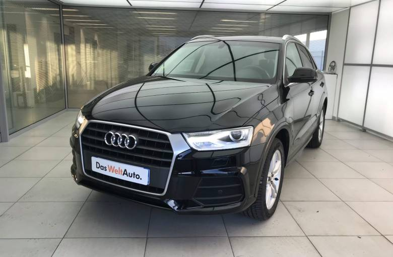 AUDI Q3 2.0 TDI 150 ch S tronic 7  Ambition Luxe - véhicule d'occasion - Site Internet Faurie