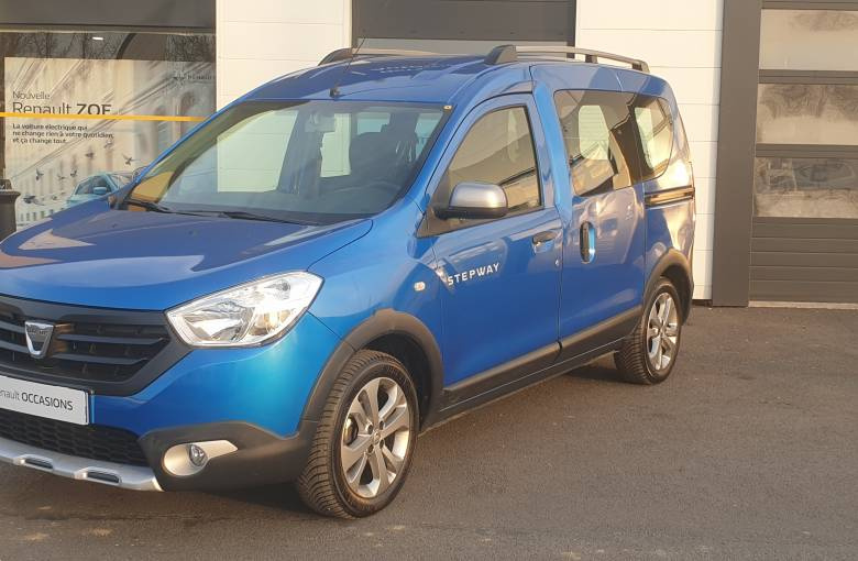 DACIA Dokker 1.5 dCi 90  Stepway - véhicule d'occasion - Site Internet Faurie