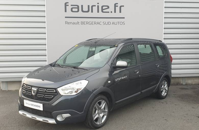 DACIA Lodgy TCe 115 7 places  Stepway - véhicule d'occasion - Site Internet Faurie