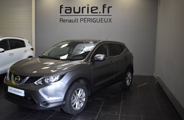 NISSAN Qashqai 1.5 dCi 110 Stop/Start  Connect Edition - véhicule d'occasion - Site Internet Faurie