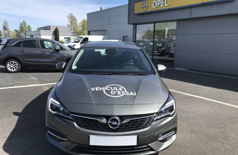 OPEL Astra Sports Tourer 1.5 Diesel 122 ch BVA9  Edition Business - véhicule d'occasion - Site Internet Faurie