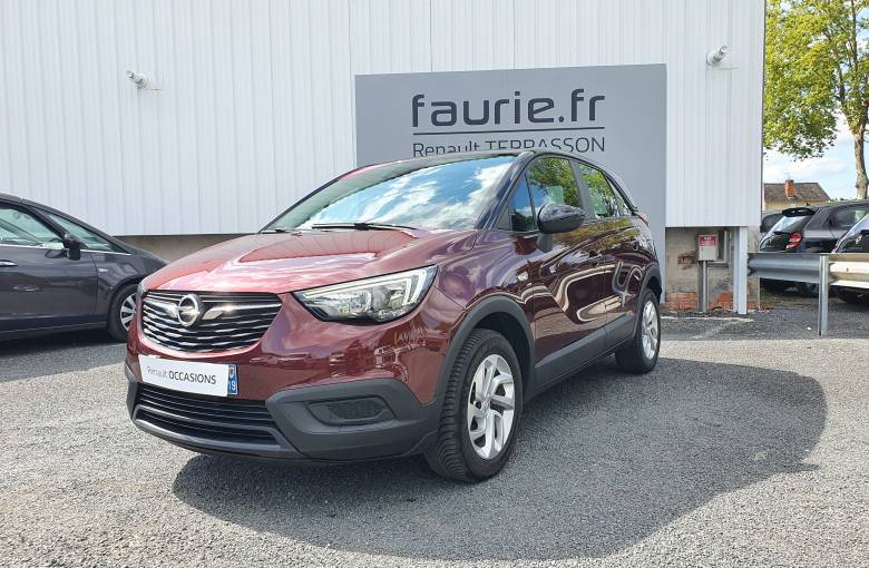 OPEL Crossland X 1.2 Turbo 110 ch ECOTEC  Edition - véhicule d'occasion - Site Internet Faurie