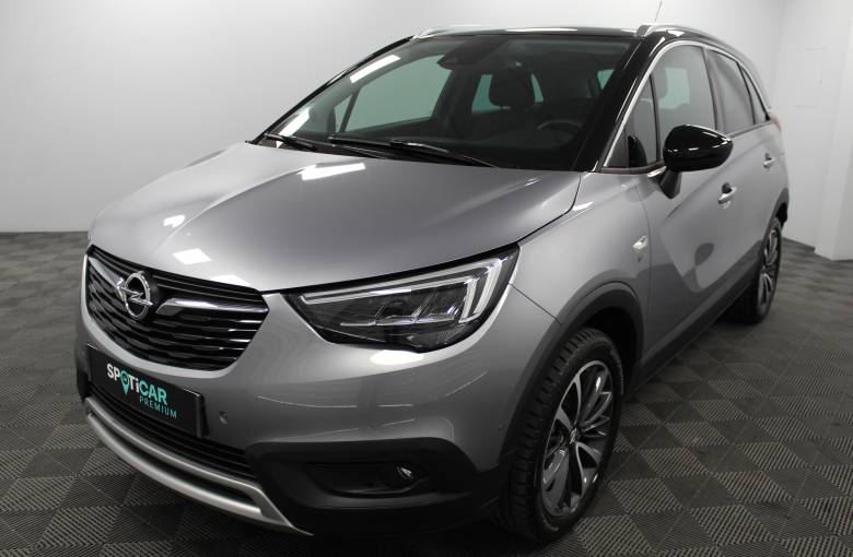 OPEL Crossland X 1.2 Turbo 110 ch  Design 120 ans - véhicule d'occasion - Site Internet Faurie