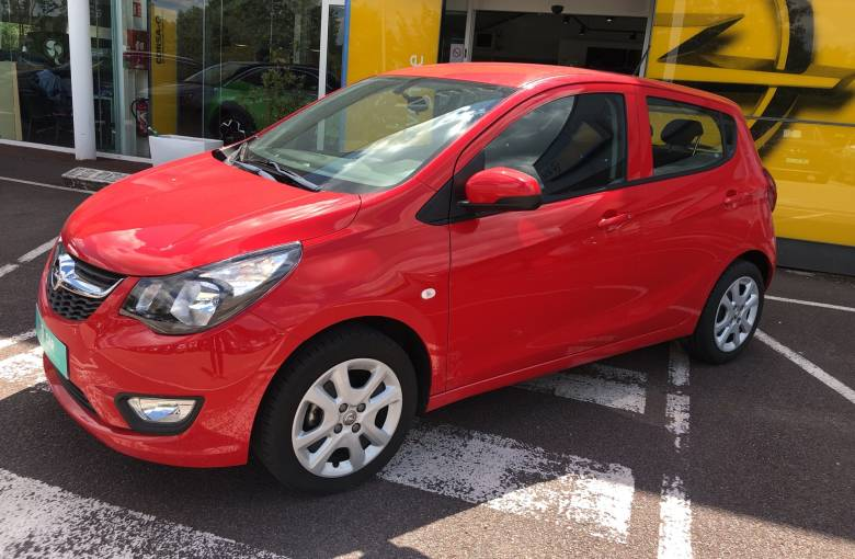 OPEL Karl 1.0 - 75 ch  Edition Plus - véhicule d'occasion - Site Internet Faurie