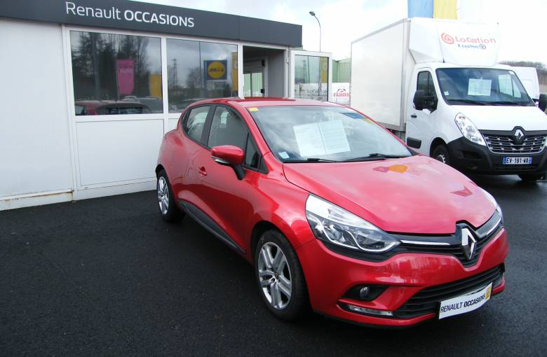 RENAULT CLIO IV BUSINESS Clio dCi 90 Energy 82g  Business - véhicule d'occasion - Site Internet Faurie