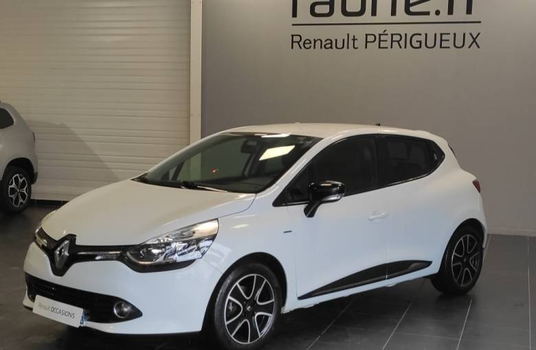 RENAULT Clio IV 1.2 16V 75  Limited - véhicule d'occasion - Site Internet Faurie