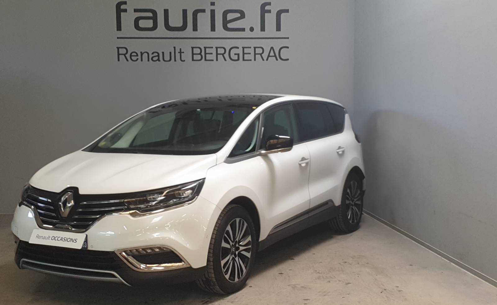 RENAULT Espace dCi 160 Energy Twin Turbo - véhicule d'occasion - Site Internet Faurie - Renault - Faurie Auto Bergerac - 24100 - Bergerac - 1