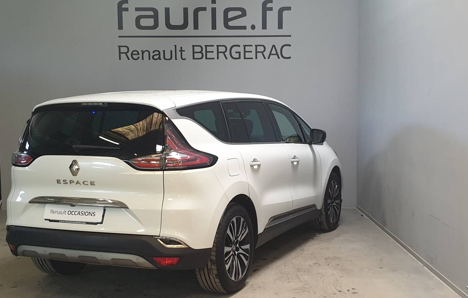 RENAULT Espace dCi 160 Energy Twin Turbo - véhicule d'occasion - Site Internet Faurie - Renault - Faurie Auto Bergerac - 24100 - Bergerac - 5