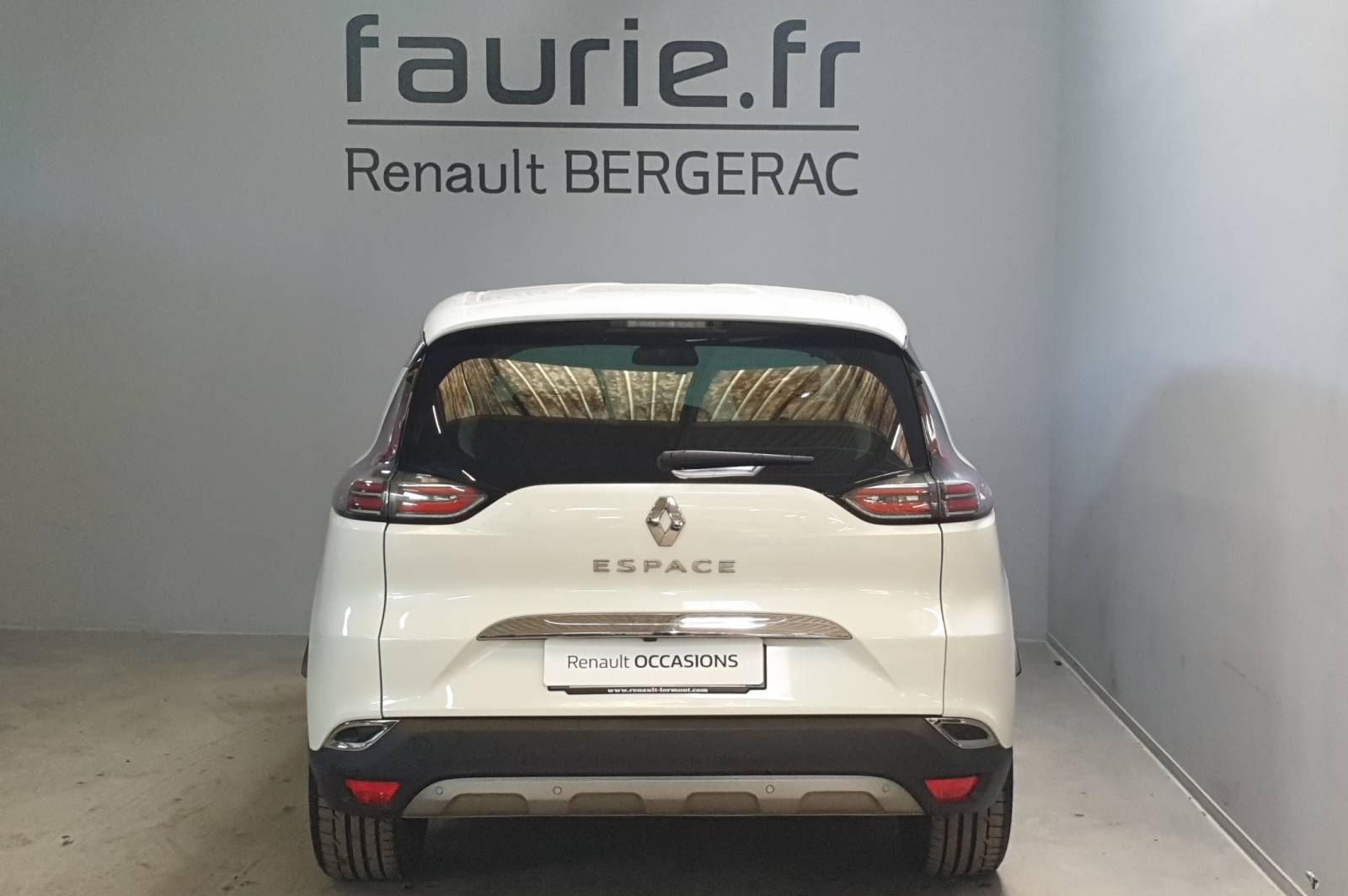 RENAULT Espace dCi 160 Energy Twin Turbo - véhicule d'occasion - Site Internet Faurie - Renault - Faurie Auto Bergerac - 24100 - Bergerac - 6