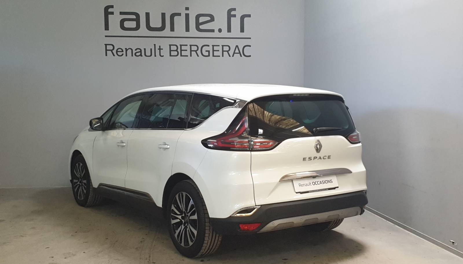RENAULT Espace dCi 160 Energy Twin Turbo - véhicule d'occasion - Site Internet Faurie - Renault - Faurie Auto Bergerac - 24100 - Bergerac - 8