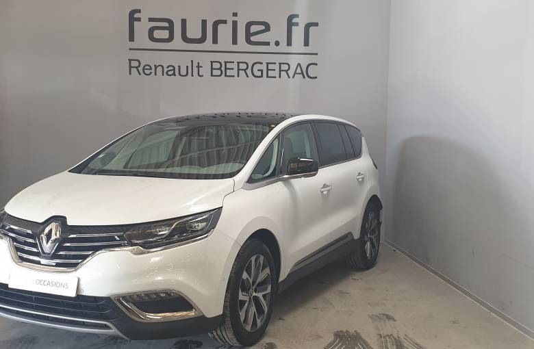 RENAULT ESPACE V Espace dCi 160 Energy Twin Turbo  Intens EDC - véhicule d'occasion - Site Internet Faurie