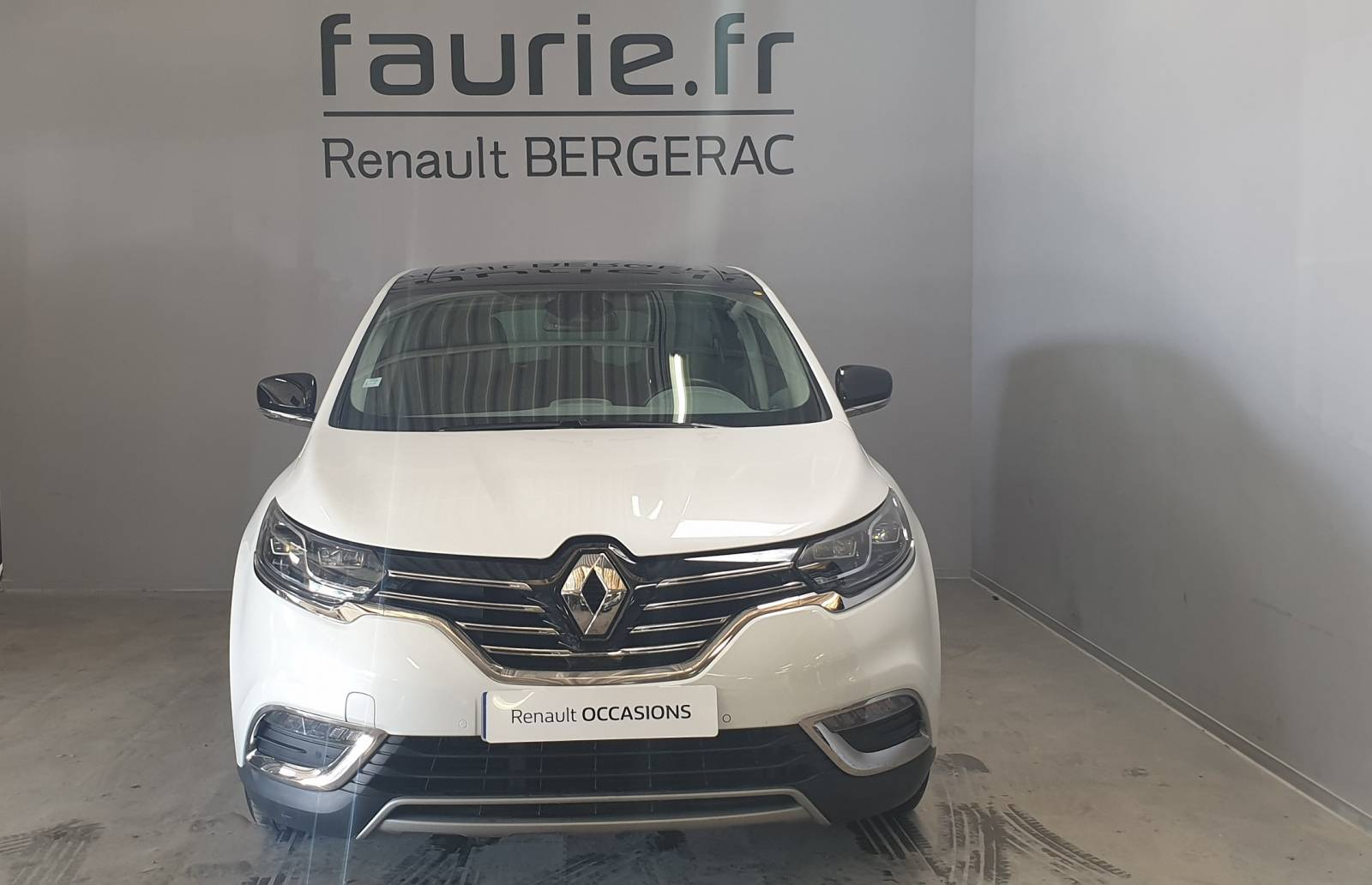 RENAULT Espace dCi 160 Energy Twin Turbo - véhicule d'occasion - Site Internet Faurie - Renault - Faurie Auto Bergerac - 24100 - Bergerac - 2