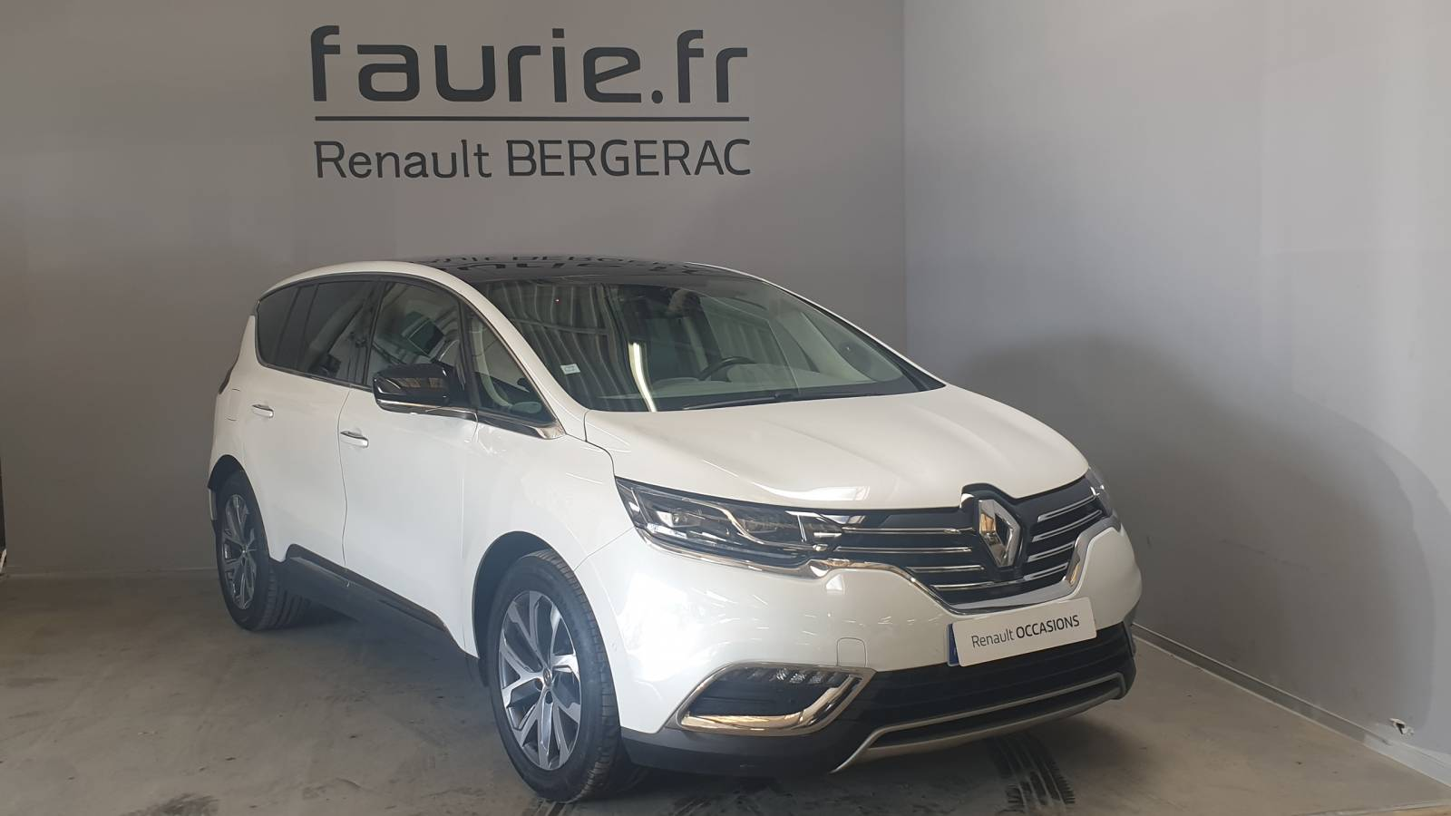 RENAULT Espace dCi 160 Energy Twin Turbo - véhicule d'occasion - Site Internet Faurie - Renault - Faurie Auto Bergerac - 24100 - Bergerac - 3