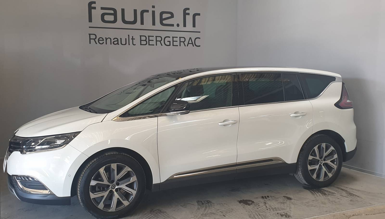 RENAULT Espace dCi 160 Energy Twin Turbo - véhicule d'occasion - Site Internet Faurie - Renault - Faurie Auto Bergerac - 24100 - Bergerac - 9