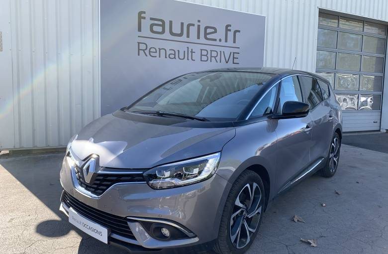 RENAULT GRAND SCENIC IV Grand Scenic Blue dCi 120 EDC  Intens - véhicule d'occasion - Site Internet Faurie