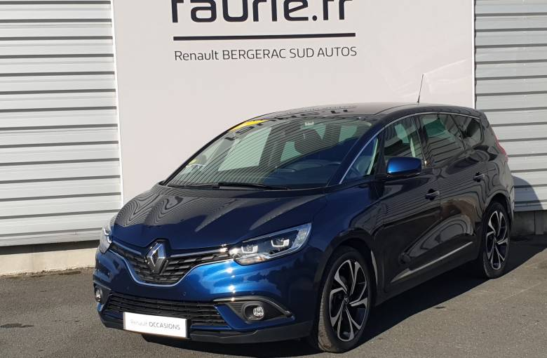 RENAULT GRAND SCENIC IV Grand Scenic Blue dCi 150  Intens - véhicule d'occasion - Site Internet Faurie