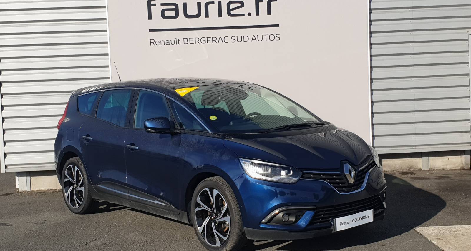 RENAULT Grand Scenic Blue dCi 150 - véhicule d'occasion - Site Internet Faurie - Renault - Faurie Auto Bergerac - 24100 - Bergerac - 3