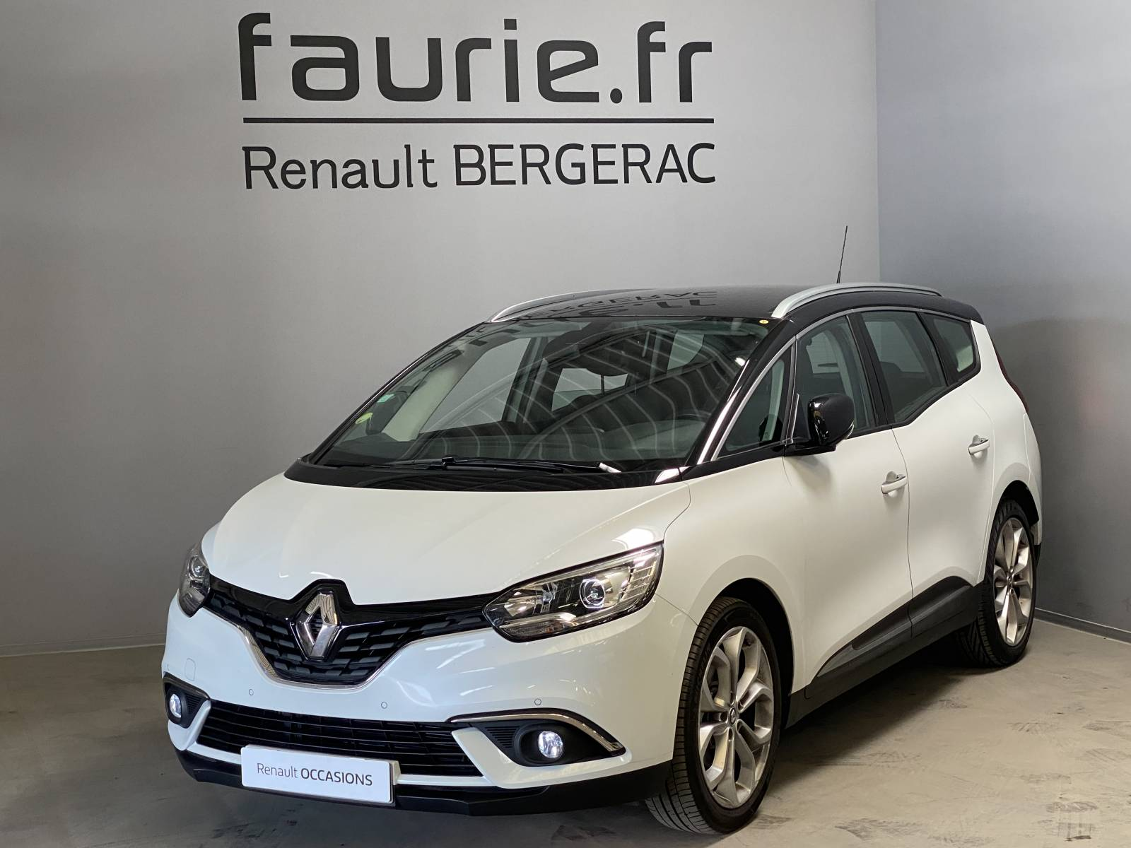 RENAULT Grand Scénic dCi 110 Energy EDC - véhicule d'occasion - Site Internet Faurie - Renault - Faurie Auto Bergerac - 24100 - Bergerac - 1