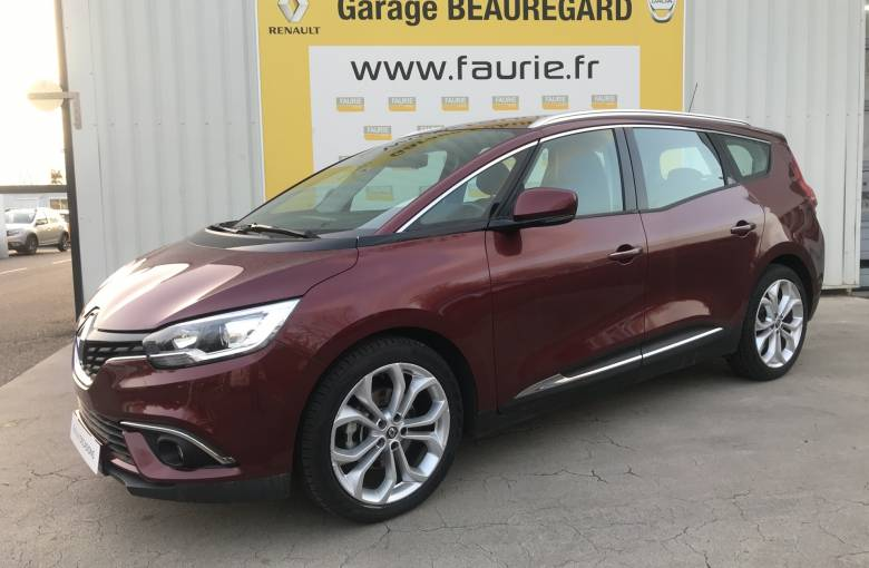 RENAULT GRAND SCENIC IV BUSINESS Grand Scénic dCi 110 Energy  Business 7 pl - véhicule d'occasion - Site Internet Faurie