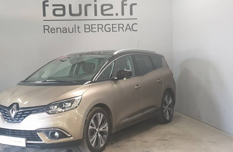 RENAULT GRAND SCENIC IV Grand Scénic dCi 160 Energy EDC  Intens - véhicule d'occasion - Site Internet Faurie