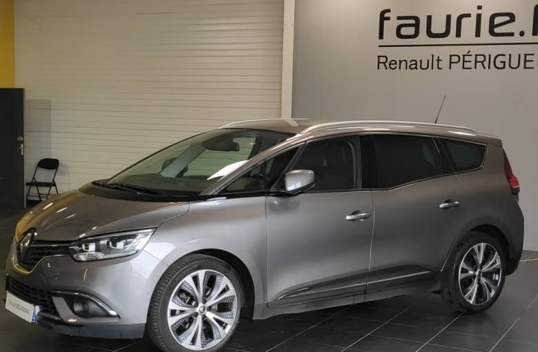 RENAULT GRAND SCENIC IV Grand Scénic TCe 160 Energy EDC  Intens - véhicule d'occasion - Site Internet Faurie