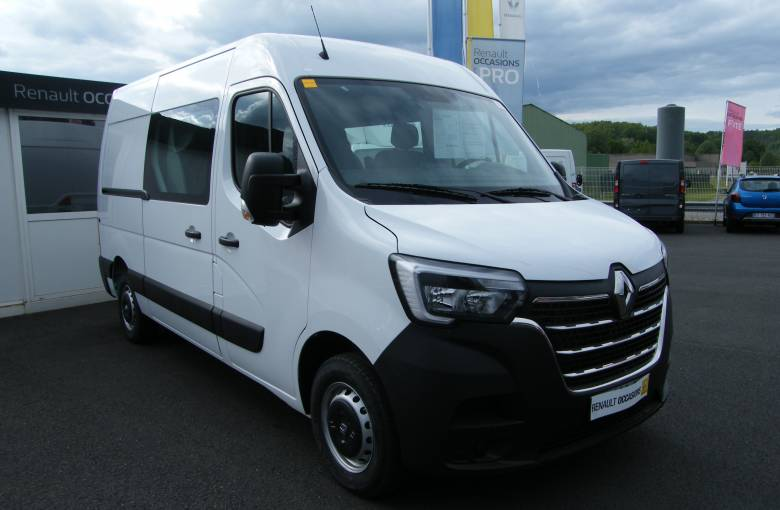 RENAULT MASTER CABINE APPROFONDIE MASTER CA TRAC F3500 L2H2 ENERGY DCI 150  GRAND CONFORT - véhicule d'occasion - Site Internet Faurie