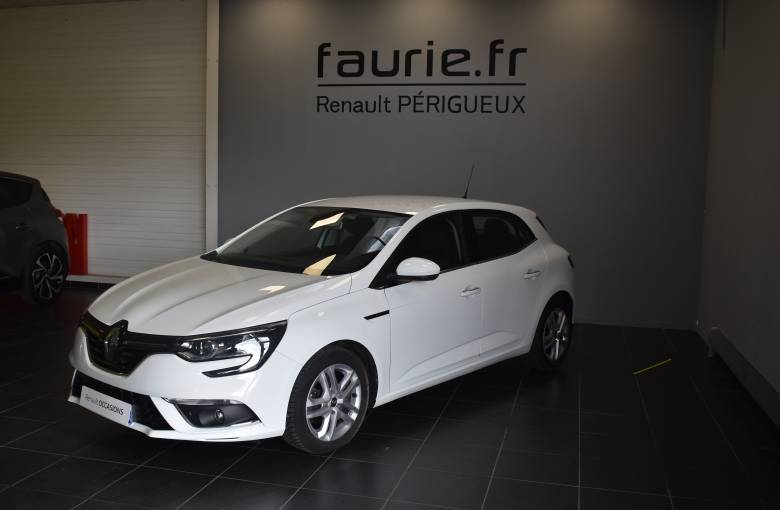 RENAULT MEGANE IV BERLINE BUSINESS Mégane IV Berline dCi 110 Energy EDC  Business - véhicule d'occasion - Site Internet Faurie
