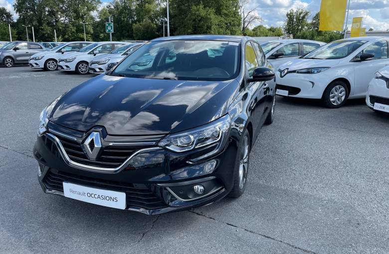 RENAULT Mégane IV Berline dCi 110 Energy  Limited - véhicule d'occasion - Site Internet Faurie