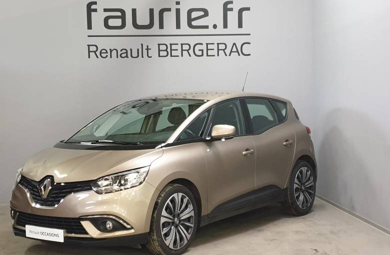 RENAULT SCENIC IV Scenic Blue dCi 120  Life - véhicule d'occasion - Site Internet Faurie
