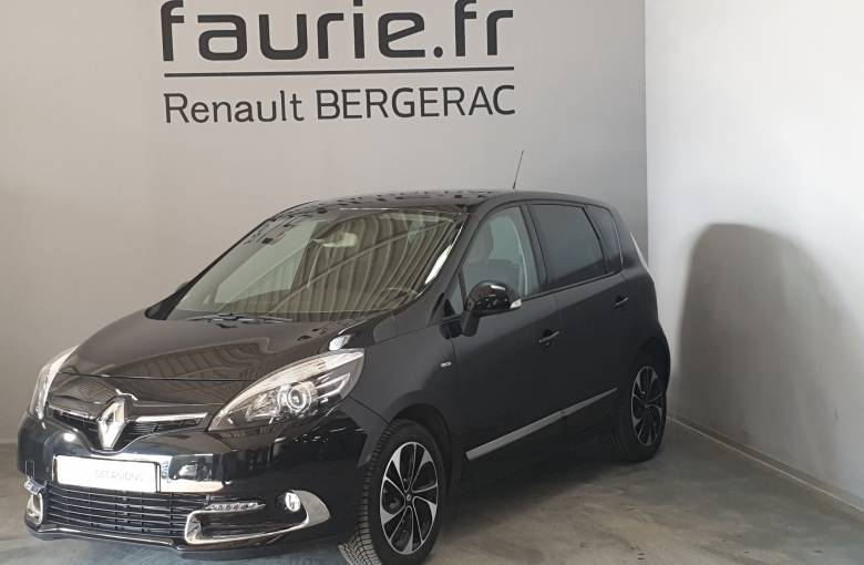 RENAULT SCENIC III Scenic dCi 110 Energy eco2  Bose Edition - véhicule d'occasion - Site Internet Faurie