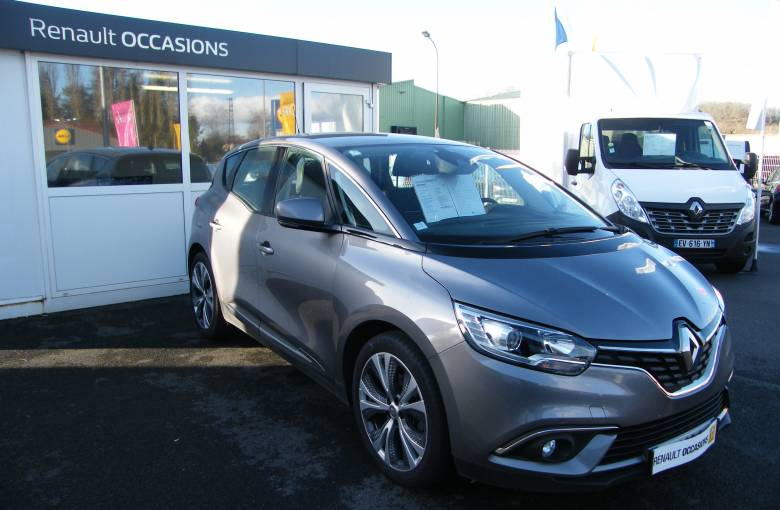RENAULT SCENIC IV Scenic dCi 110 Energy  Intens - véhicule d'occasion - Site Internet Faurie