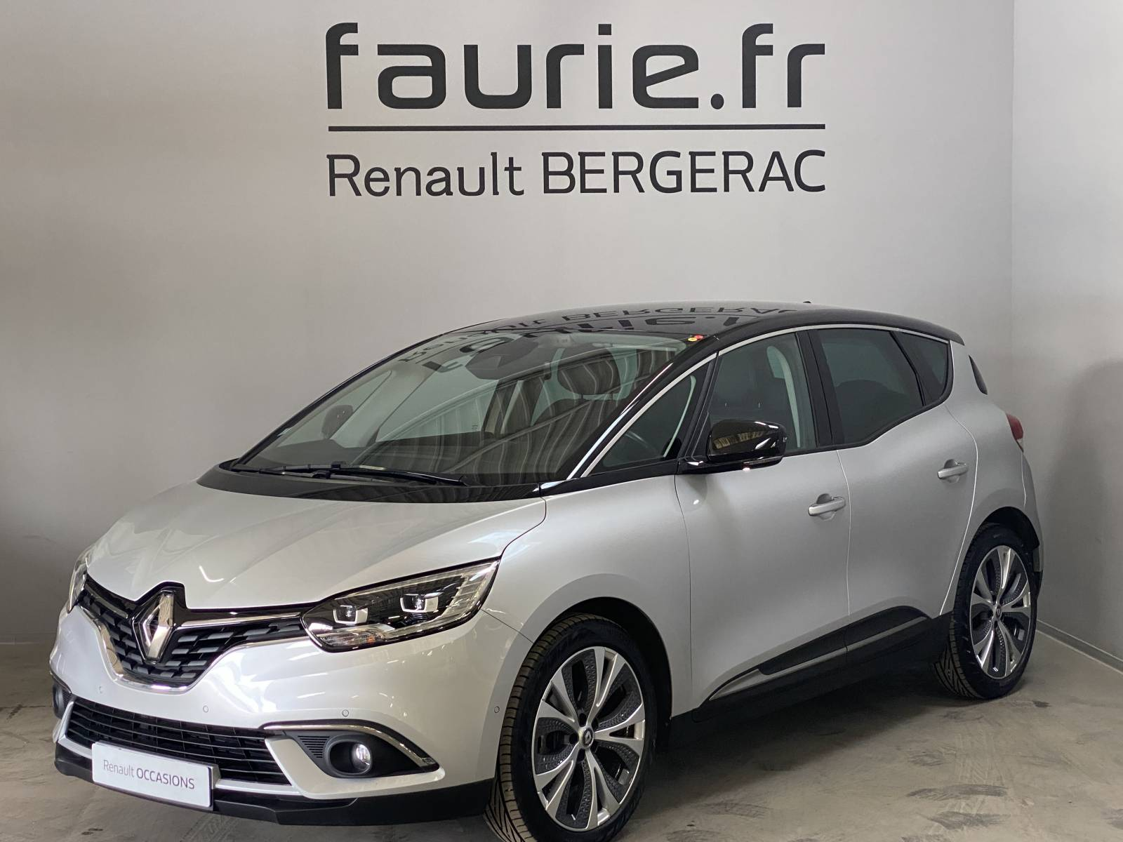 RENAULT Scenic dCi 130 Energy - véhicule d'occasion - Site Internet Faurie - Renault - Faurie Auto Bergerac - 24100 - Bergerac - 1
