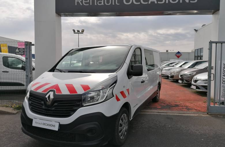 RENAULT TRAFIC CABINE APPROFONDIE TRAFIC CA L2H1 1200 KG DCI 125 ENERGY E6  GRAND CONFORT - véhicule d'occasion - Site Internet Faurie