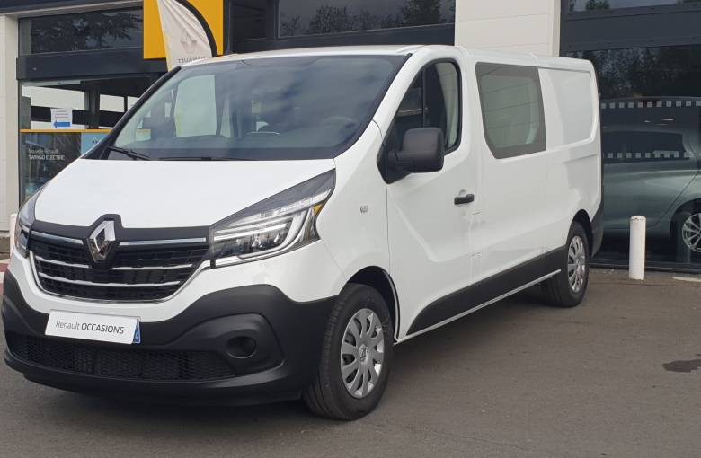 RENAULT TRAFIC CABINE APPROFONDIE TRAFIC CA L2H1 1200 KG DCI 145 ENERGY  GRAND CONFORT - véhicule d'occasion - Site Internet Faurie