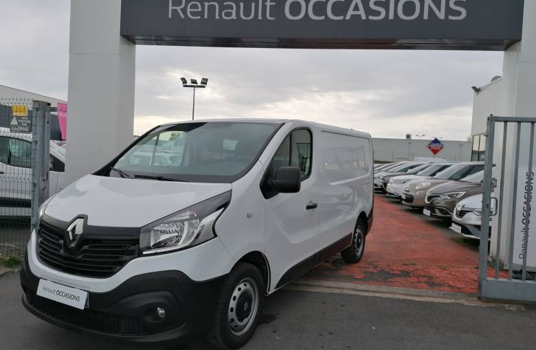 RENAULT TRAFIC FOURGON TRAFIC FGN L1H1 1000 KG DCI 95 E6 STOP&START  CONFORT - véhicule d'occasion - Site Internet Faurie