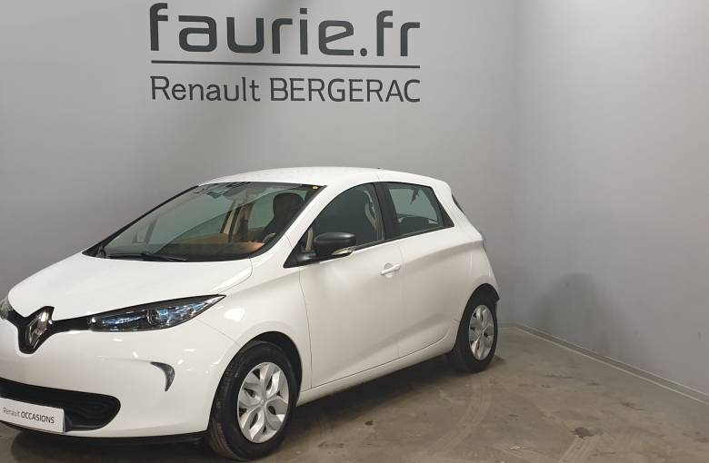 RENAULT Zoe  Life Gamme 2017 - véhicule d'occasion - Site Internet Faurie
