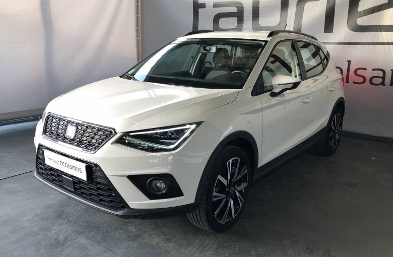 SEAT Arona 1.0 EcoTSI 115 ch Start/Stop BVM6  Style - véhicule d'occasion - Site Internet Faurie