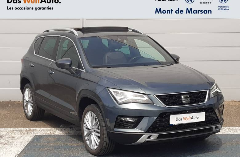 SEAT Ateca 1.6 TDI 115 ch Start/Stop Ecomotive  Xcellence - véhicule d'occasion - Site Internet Faurie