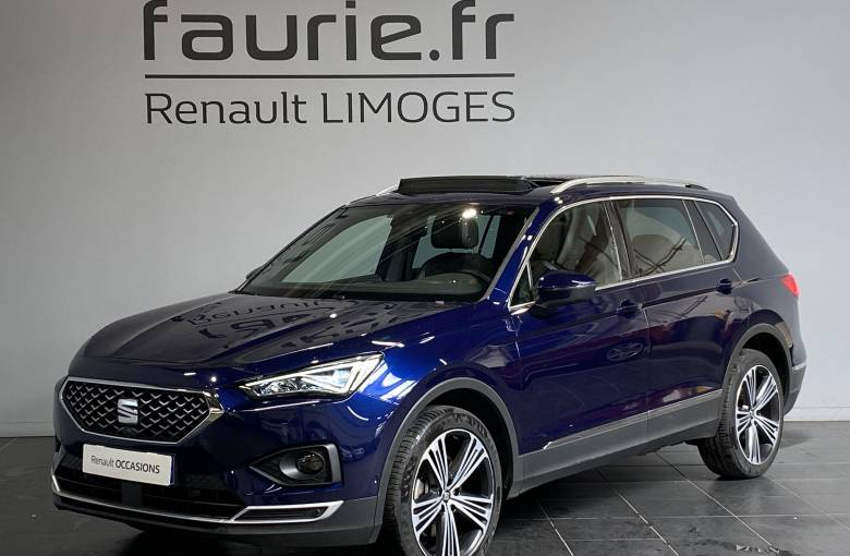 SEAT Tarraco 2.0 TDI 190 ch Start/Stop DSG7 4Drive 7 pl  Xcellence - véhicule d'occasion - Site Internet Faurie