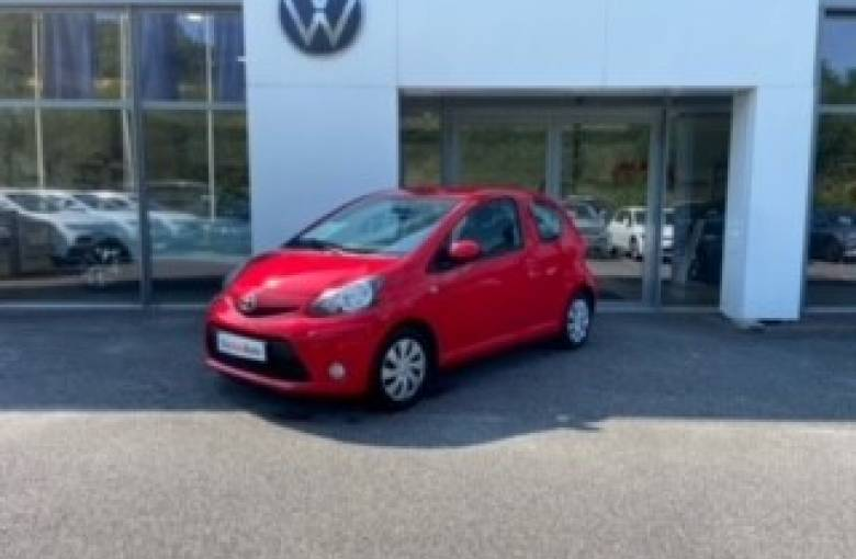 TOYOTA Aygo MC 1.0 VVT-i  Style - véhicule d'occasion - Site Internet Faurie