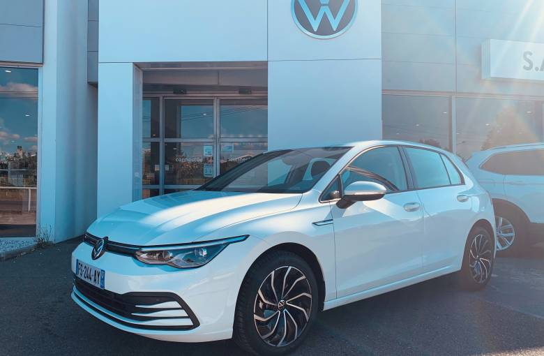 VOLKSWAGEN GOLF NOUVELLE Golf 1.5 TSI ACT OPF 130 BVM6  Life 1st - véhicule d'occasion - Site Internet Faurie