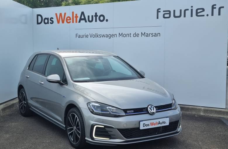 VOLKSWAGEN Golf Hybride Rechargeable 1.4 TSI 204 DSG6  GTE - véhicule d'occasion - Site Internet Faurie