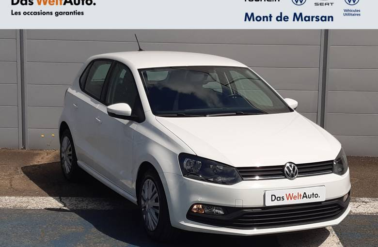 VOLKSWAGEN Polo 1.4 TDI 75 BMT  Trendline - véhicule d'occasion - Site Internet Faurie