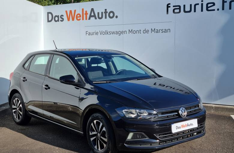 VOLKSWAGEN Polo 1.6 TDI 95 S&S BVM5  IQ.DRIVE - véhicule d'occasion - Site Internet Faurie