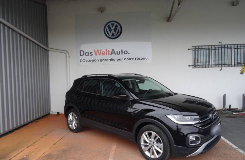 VOLKSWAGEN T-Cross 1.0 TSI 115 Start/Stop BVM6  Carat - véhicule d'occasion - Site Internet Faurie