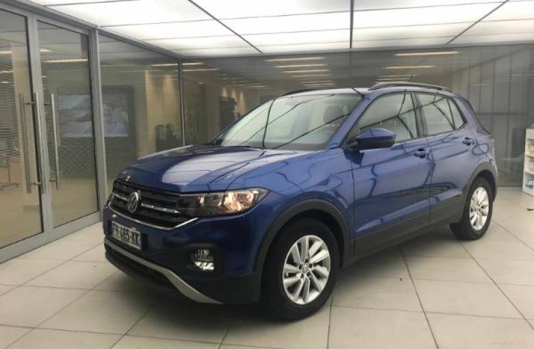 VOLKSWAGEN T-Cross 1.0 TSI 95 Start/Stop BVM5  Lounge - véhicule d'occasion - Site Internet Faurie