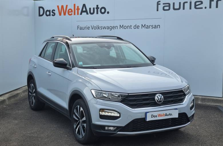 VOLKSWAGEN T-Roc 1.6 TDI 115 Start/Stop BVM6  IQ.Drive - véhicule d'occasion - Site Internet Faurie