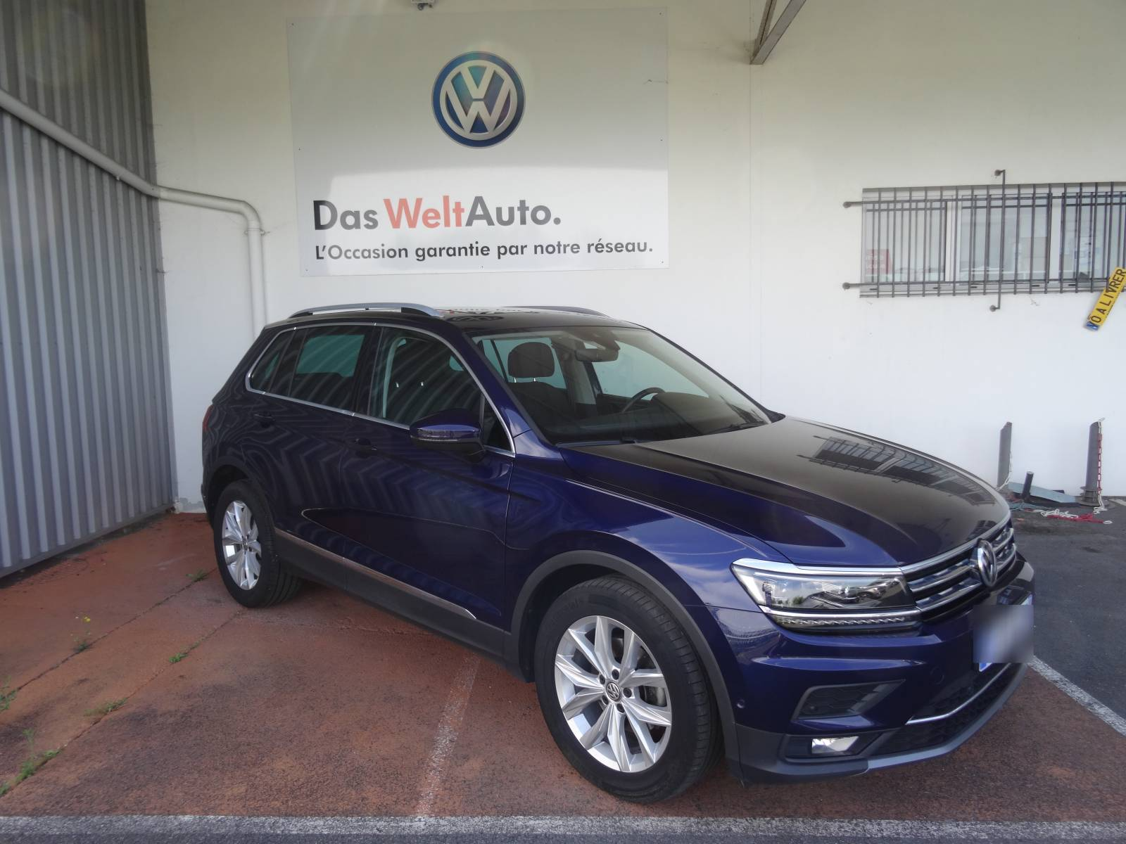 VOLKSWAGEN Tiguan 2.0 TDI 150 DSG7 - véhicule d'occasion - Site Internet Faurie - Volkswagen - Faurie Axess Sud Ouest Dax - 40180 - Narrosse - 1